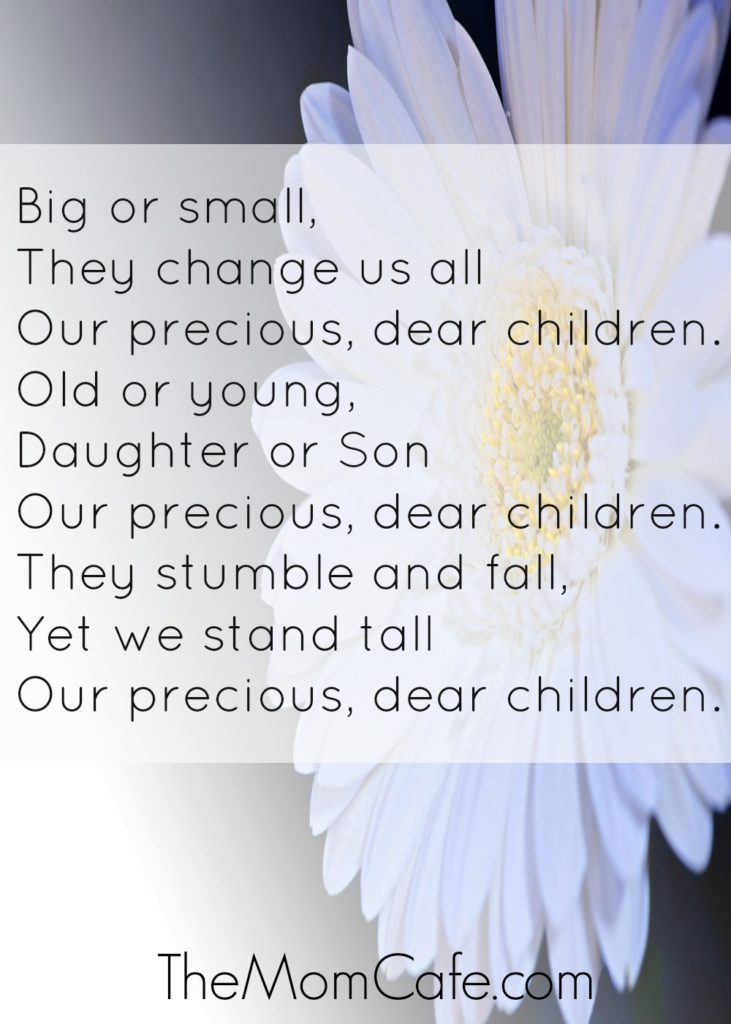 Our Precious, Dear Children…