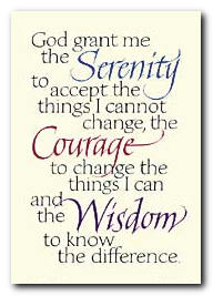 The Serenity Prayer…Kinda