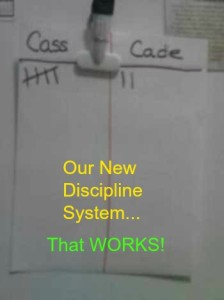 Our New Discipline System