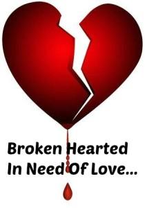 love, broken hearts, Valentine's Day