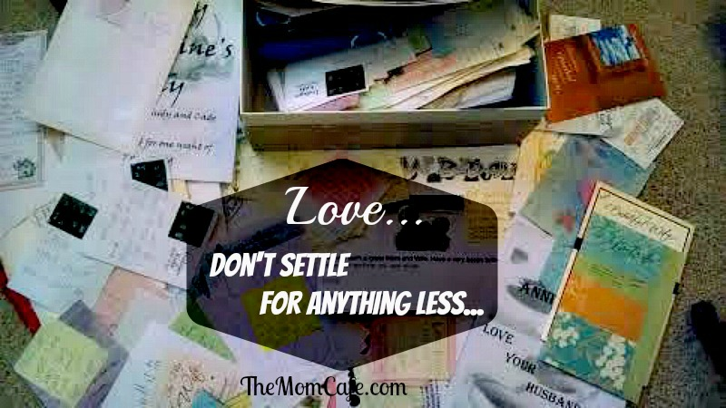 Love Don't Settle For Anything Less