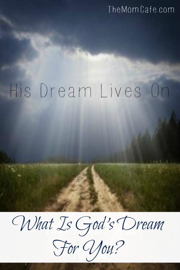 God has a dream for your life. #devotional #scripture #faith #identity
