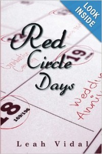 Red Circle Days By Leah Vidal