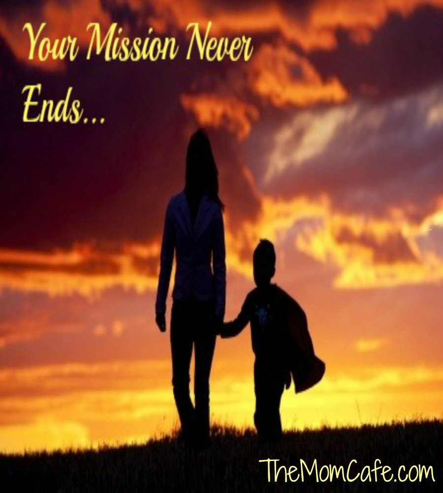Your Mission Never Ends