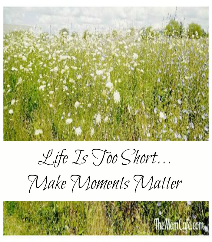 Life Is Too Short Make Moments Matter