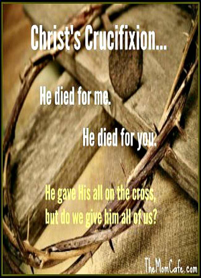 Christ Gave His All
