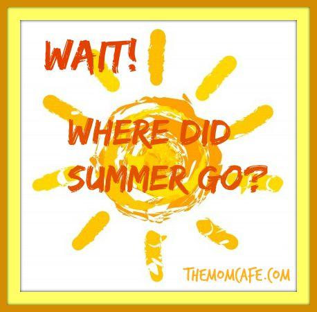 Wait Where Did Summer Go