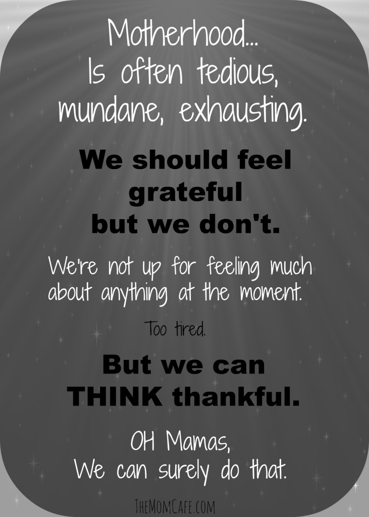 Think Thankful...We Can Surely Do That