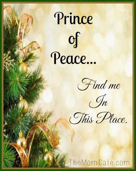 Prince of Peace Find Me in This Place