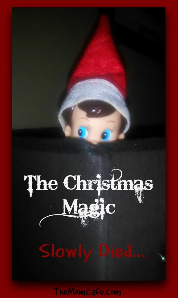 The Christmas Magic, Elf on the shelf, parenting, kids, growing up