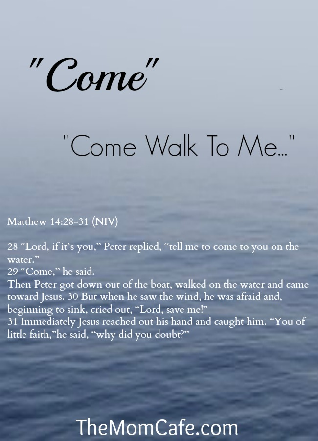 faith, Matthew 14:28-31, Jesus, walk on water