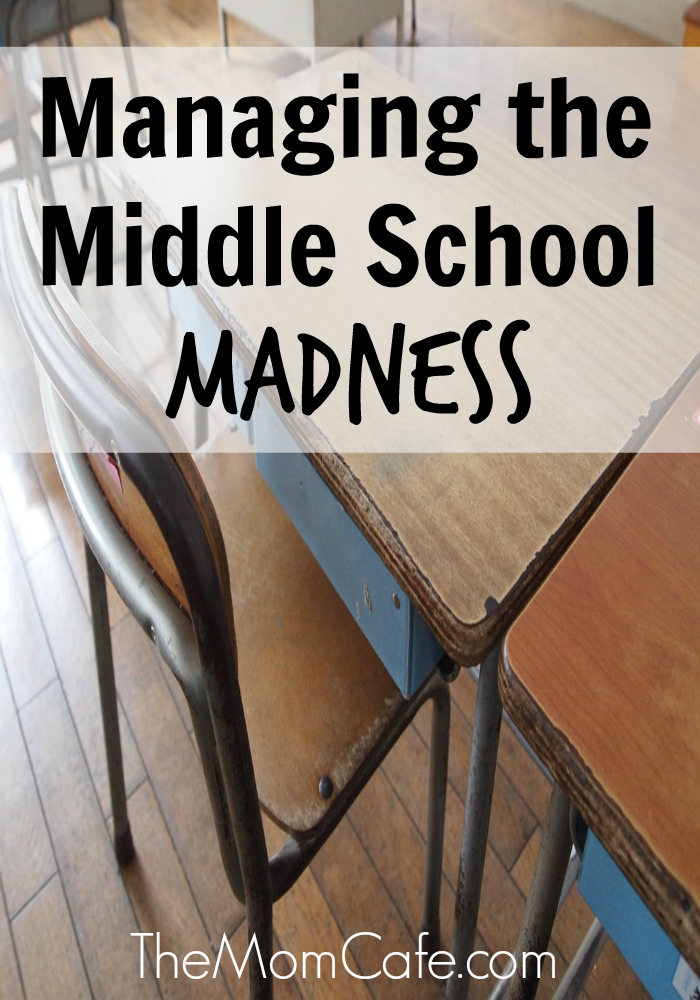 Managing Middle School's Madness