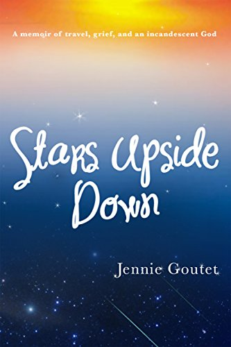 Book cover of a sky with stars. Memoir