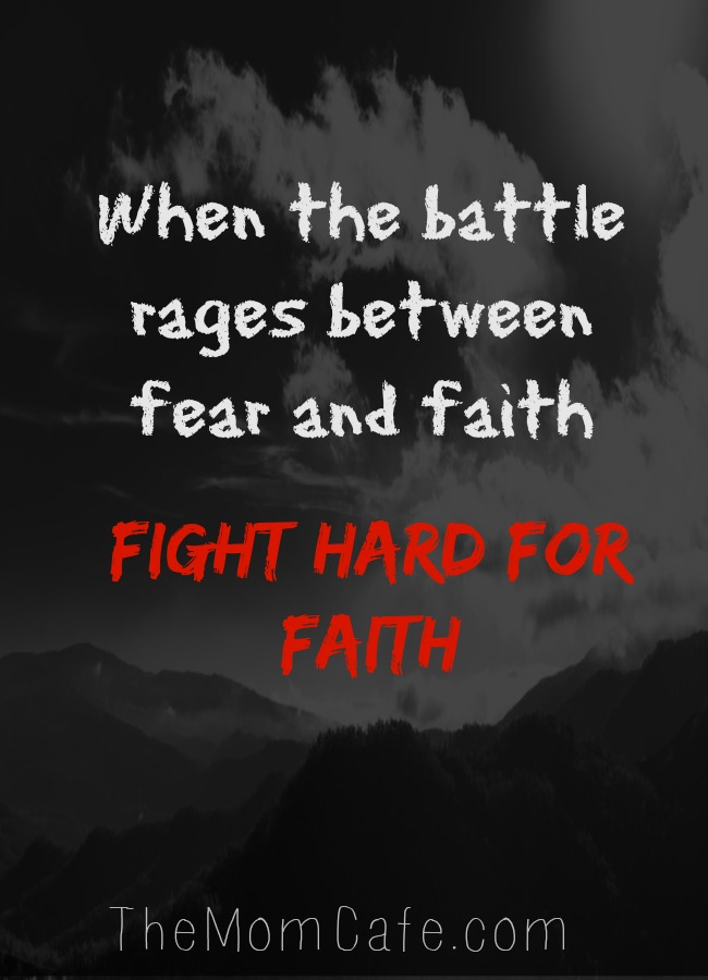 Fear and faith Inspirational quotes