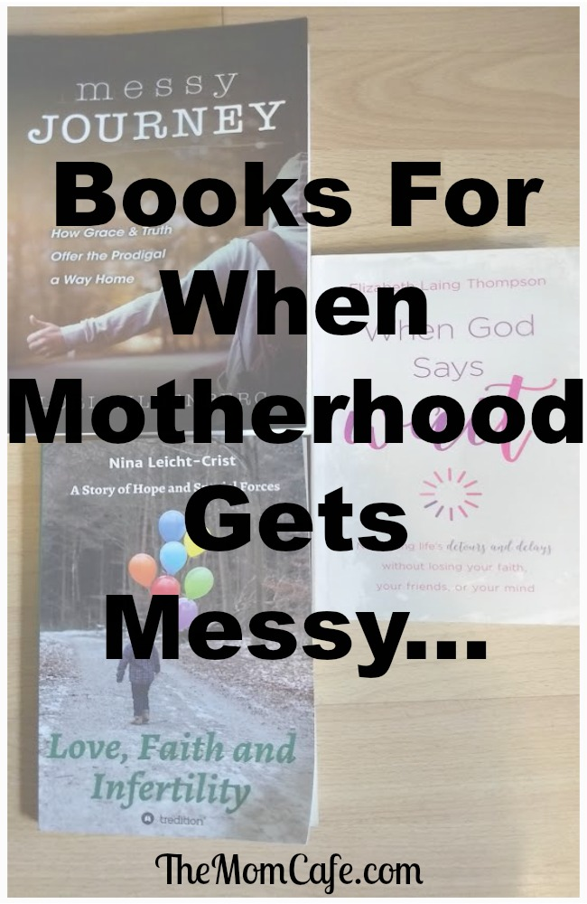 Christian Books For When Motherhood Gets Messy and Hope In The Waiting