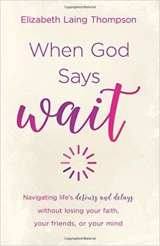 When God Says Wait Christian Book