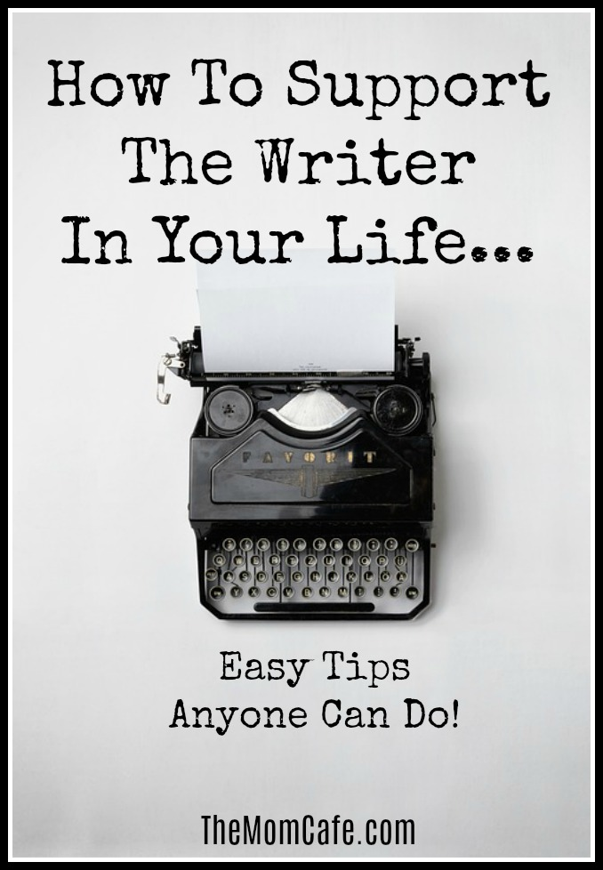step by step guide to help support the writer in your life