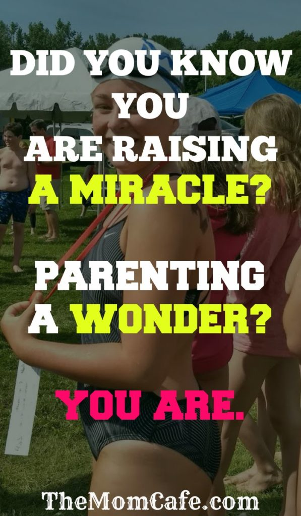 Parenting inspiration on raising our children. Faith in the miracle and wonder we are gifted with as parents.