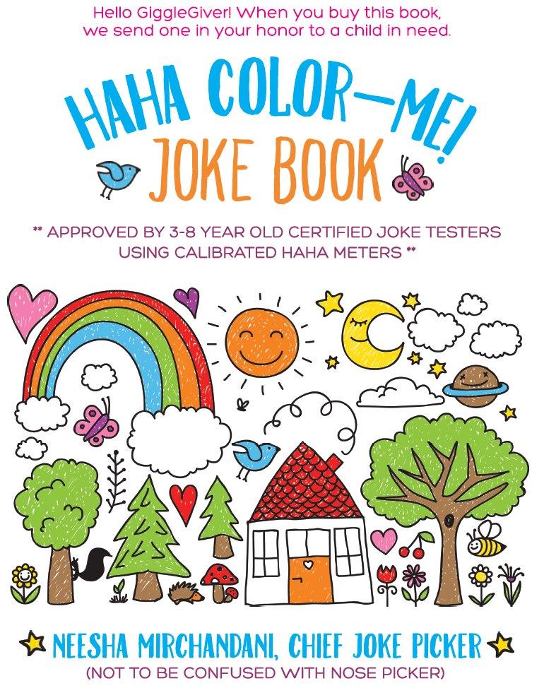HAHA COLOR-ME JOKE BOOK