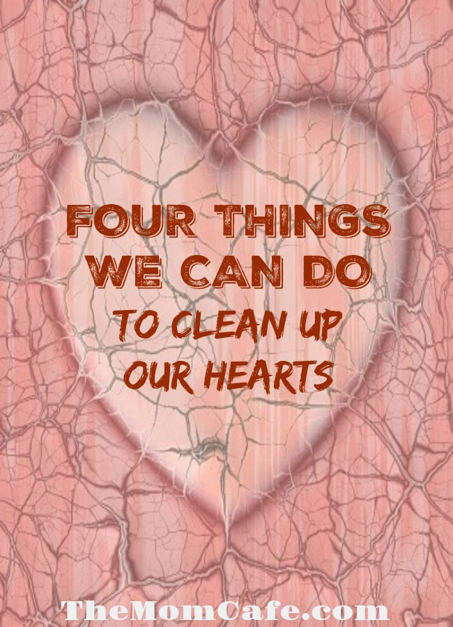 Inspirational message about cleaning up our hearts doing important work including prayer, presence, not pretending, and serving. Resolutions for 2018 from a heart perspective.