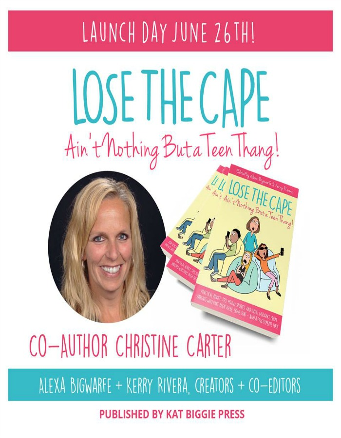 A book about raising teens written by moms for moms. #teens #adviceonparenting #parentingteens