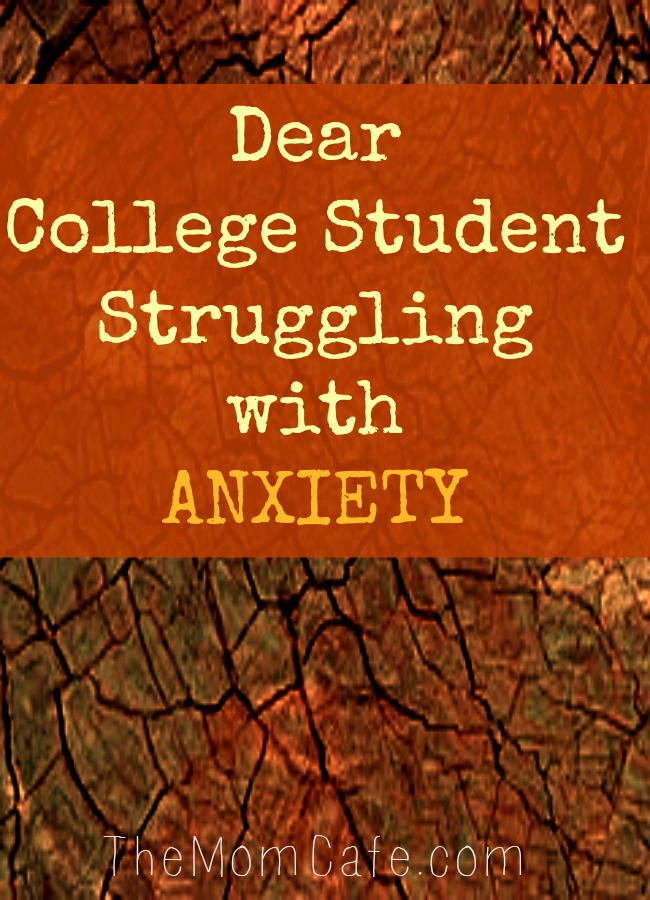 Dear College Student Struggling with Anxiety #College #student #anxiety #helpforanxiety