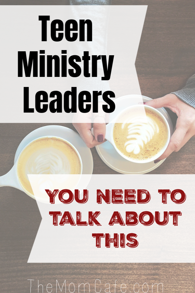 Teen Ministry Leaders need to address the topic of sex.