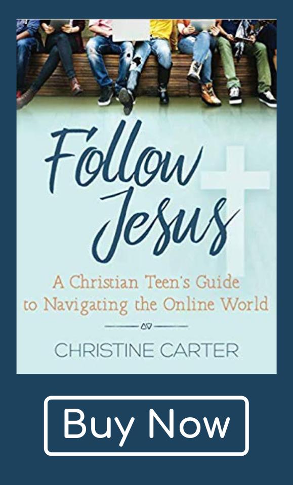 Follow Jesus Christine Carter