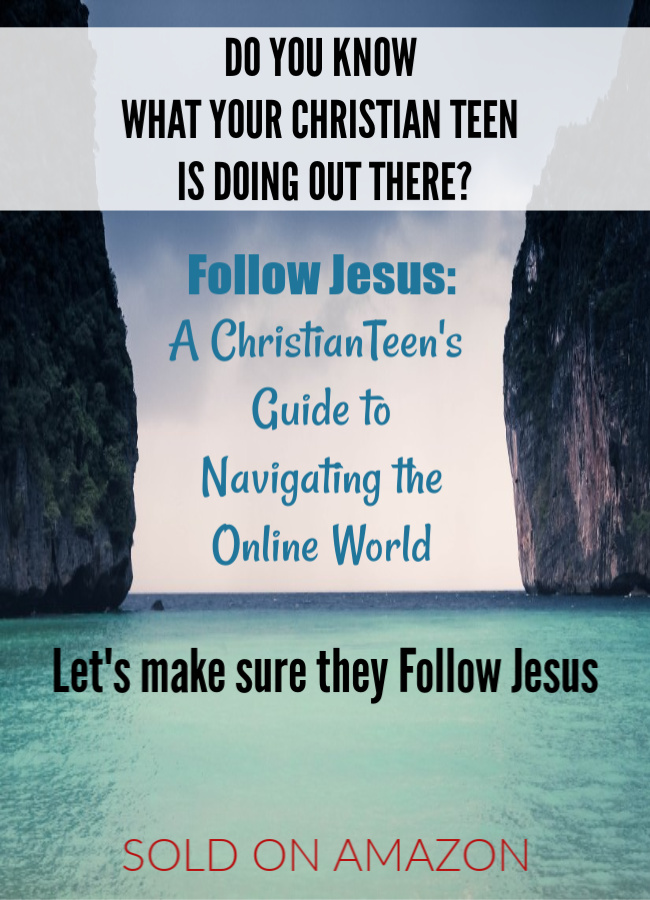 Christian Teen Resource - Follow Jesus: A Christian Teen's Guide to Navigating the Online World