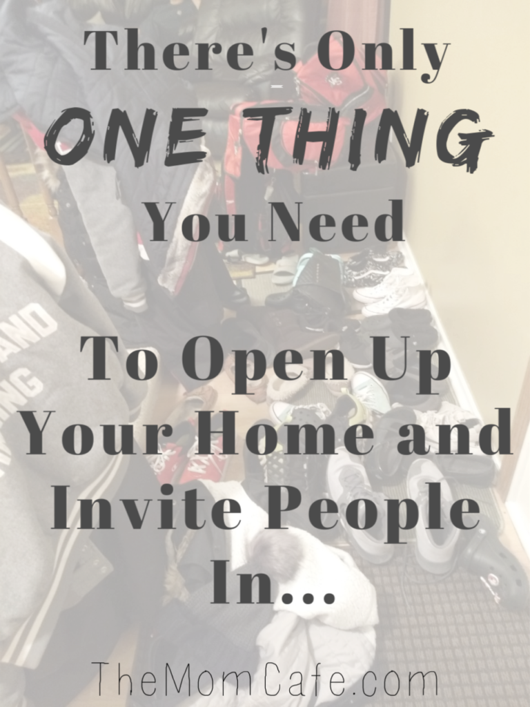 Here's what having an open home is like and you can have this too. #hostessing #home #encouragement #friends #hosting